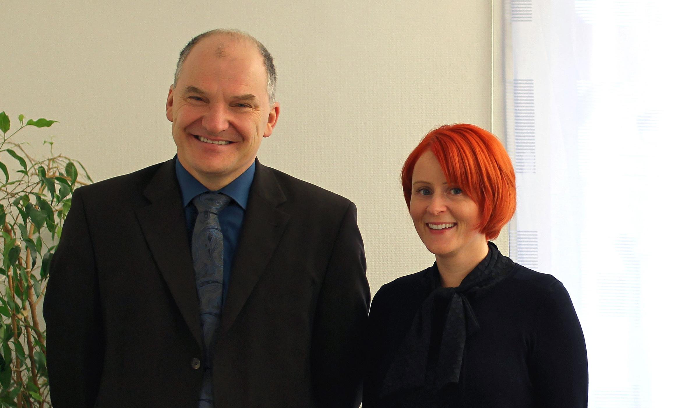 Rechtsanwältin Manuela Frick-Biber und Rechtsanwalt Guntram Marx